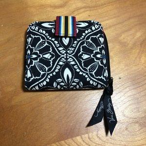 Black and White Vera Bradley Wallet